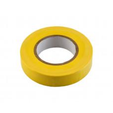 Изолента ПВХ HAUPA желтая 15 мм x 10 м d=60 мм