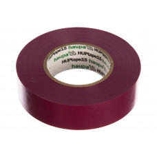 Изолента ПВХ HAUPA коричневая 15 мм x 10 м d=60 мм