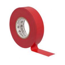Изолента ПВХ 3M красная 19 мм x 20 м Temflex 1300