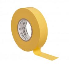 Изолента ПВХ 3M желтая 19 мм x 20 м Temflex 1300