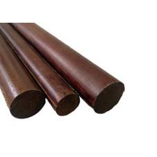 Текстолит стержень 25 мм L~ 550 мм ~0.4 кг ГОСТ 5385-74