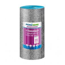 Фольгированный ламинированный рулон из вспененного полиэтилена Порилекс PenoHome НПЭ ЛФ тип А
