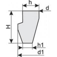 кольца для чугунных труб ту 38 105895-90 и ту 2539 89500152106-94